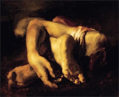 Etudes de bras et de jambes de Théodore Gericault
