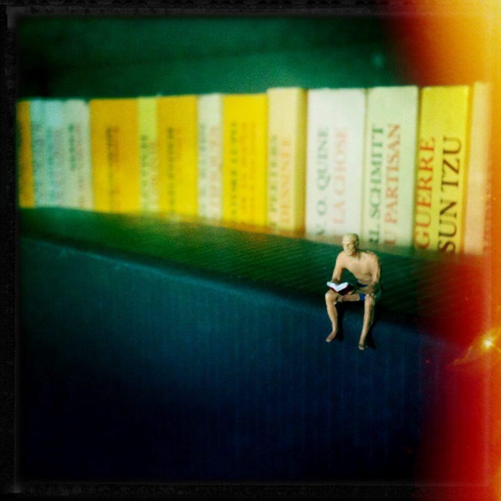 Lecteur, par Isaac Pante